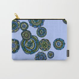 Jungle Mandala Flowers Carry-All Pouch