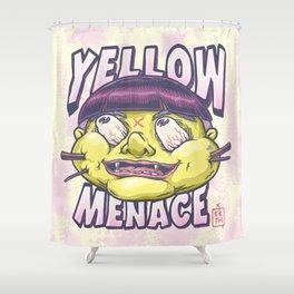 YellowMenace x ERTH Shower Curtain