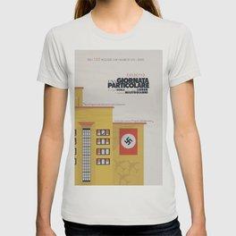 Una giornata particolare, alternative movie poster, Marcello Mastroianni, Sophia Loren, italian film T-shirt