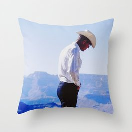 Cowboy Guide Throw Pillow