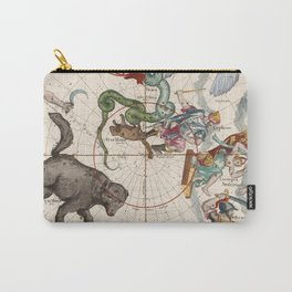 Vintage Star Atlas - Constellation Map Carry-All Pouch