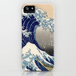 "Katsushika Hokusai ""The Great Wave off Kanagawa"" iPhone Case"