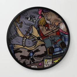 BEBOP & ROCKSTEADY HOTBOX Wall Clock