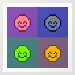 Emoji Board Art Print