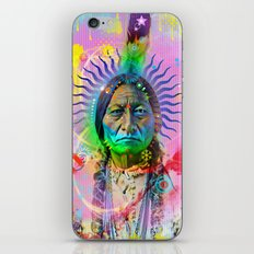 POP Sitting Bull iPhone Skin