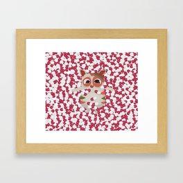 Trauma Ted Framed Art Print