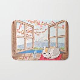 Nyanko-sensei (Natsume Yuujinchou) Bath Mat