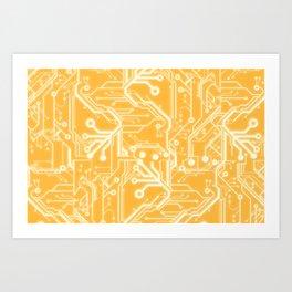Phalanx  Art Print