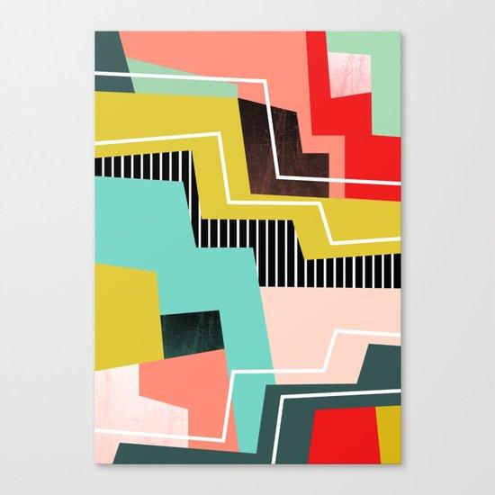 Color Block Canvas Print