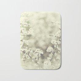 hedge blossoms Bath Mat
