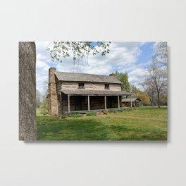 Prairie Grove Battlefield - The Latta Homestead, Established in 1834, No. 2 of 5 Metal Print