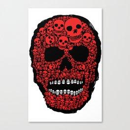 Head Dead Scull Canvas Print