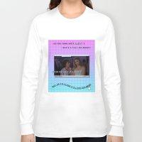 clueless Long Sleeve T-shirts featuring Clueless x Monet by Lisa-Roxane Lion