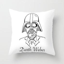 Darth Weber  Throw Pillow
