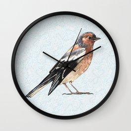 Watercolor nightingale Wall Clock