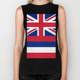 Flag of Hawaii Biker Tank