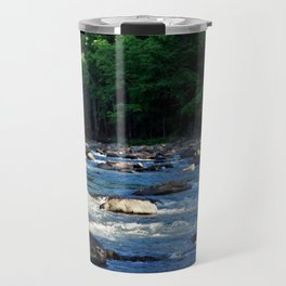 A Creek and Forest in West Virginia  Travel Mug