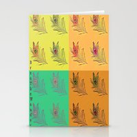 popart Stationery Cards featuring Feathers PopART by UnifiedGlory