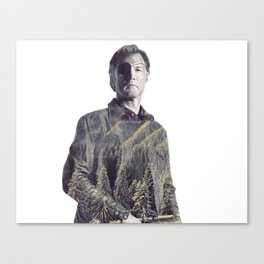 The Governor TWD Canvas Print