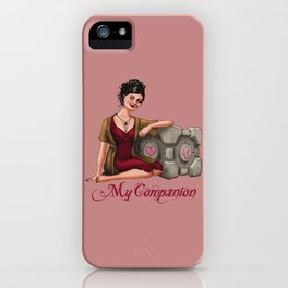 My Companion iPhone Case