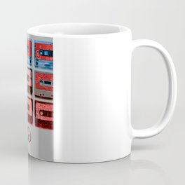 Magnetic - funky patterned mix tapes Coffee Mug