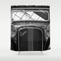 car Shower Curtains featuring Car by Veronika