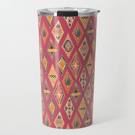 Desert Diamonds Pattern Travel Mug