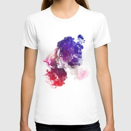 Jennifer Lawrence Watercolor Portrait T-shirt