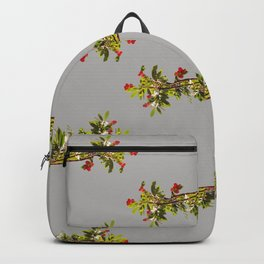 Madrone Pattern in Grey Backpack