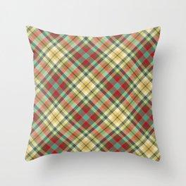 Scottish tartan #4 Throw Pillow