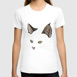 invisible cat T-shirt