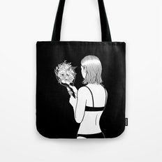 Fall in love with myself first Tote Bag