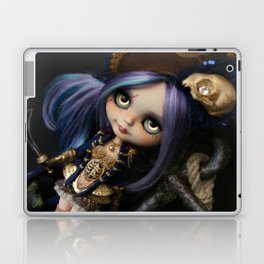 LADY BUCCANEER PIRATE OOAK BLYTHE ART DOLL Laptop & iPad Skin
