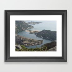 Finisterre Framed Art Print
