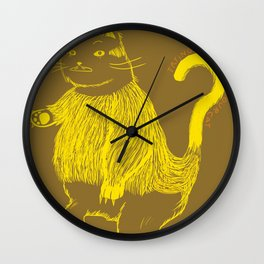 Trying to understand our cat Wall Clock
