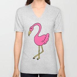 flamingerrrrr Unisex V-Neck