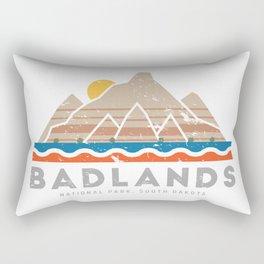 Badlands National Park, South Dakota Rectangular Pillow