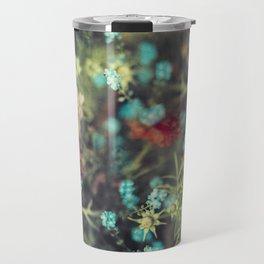 Spring Message - Colourful Flowers Travel Mug