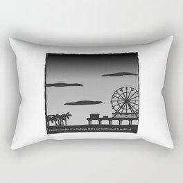 Santa Monica Confession Rectangular Pillow