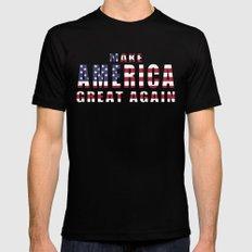 Make America Great Again MEDIUM Mens Fitted Tee Black