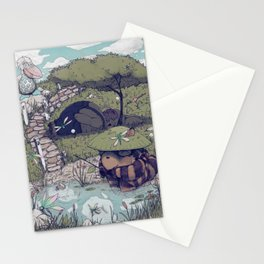 Spirited among the Dragonflies Stationery Cards