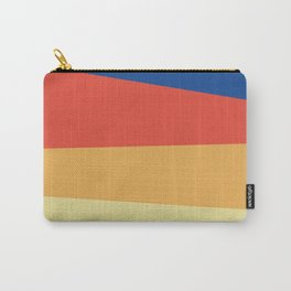 Abstracted Lines Carry-All Pouch