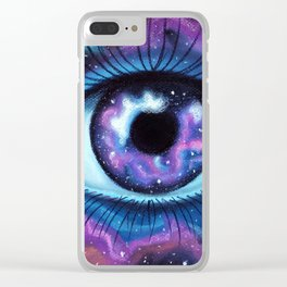We Are All Made Of Stardust Clear iPhone Case