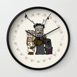HOLY GRIAL  Wall Clock