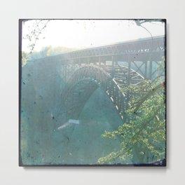 New River Metal Print