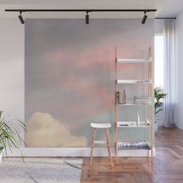 Sweet Candy Clouds Wall Mural