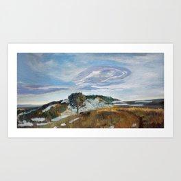 M Hill Art Print