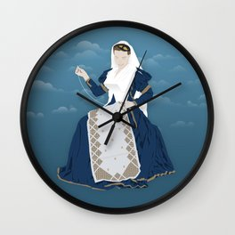 Lefkada, Traditional Costume & Embroidery (GR) Wall Clock
