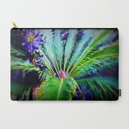 Tropical Plants and Flowers Carry-All Pouch