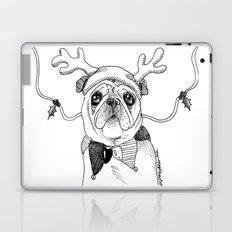 Jingle Pug Laptop & iPad Skin